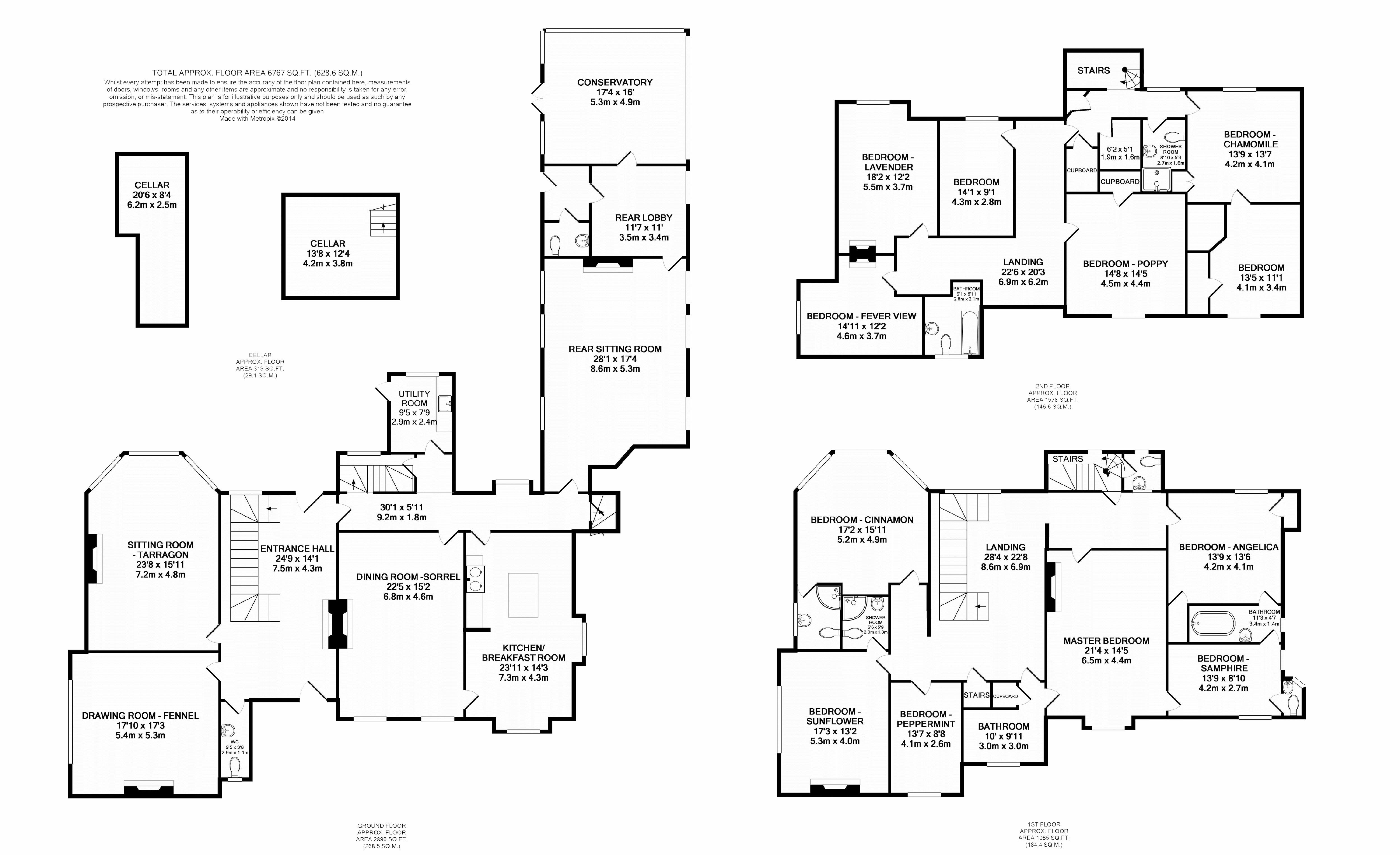 welle manor hall, new road, upwell, norfolk, pe14 9ab - printable