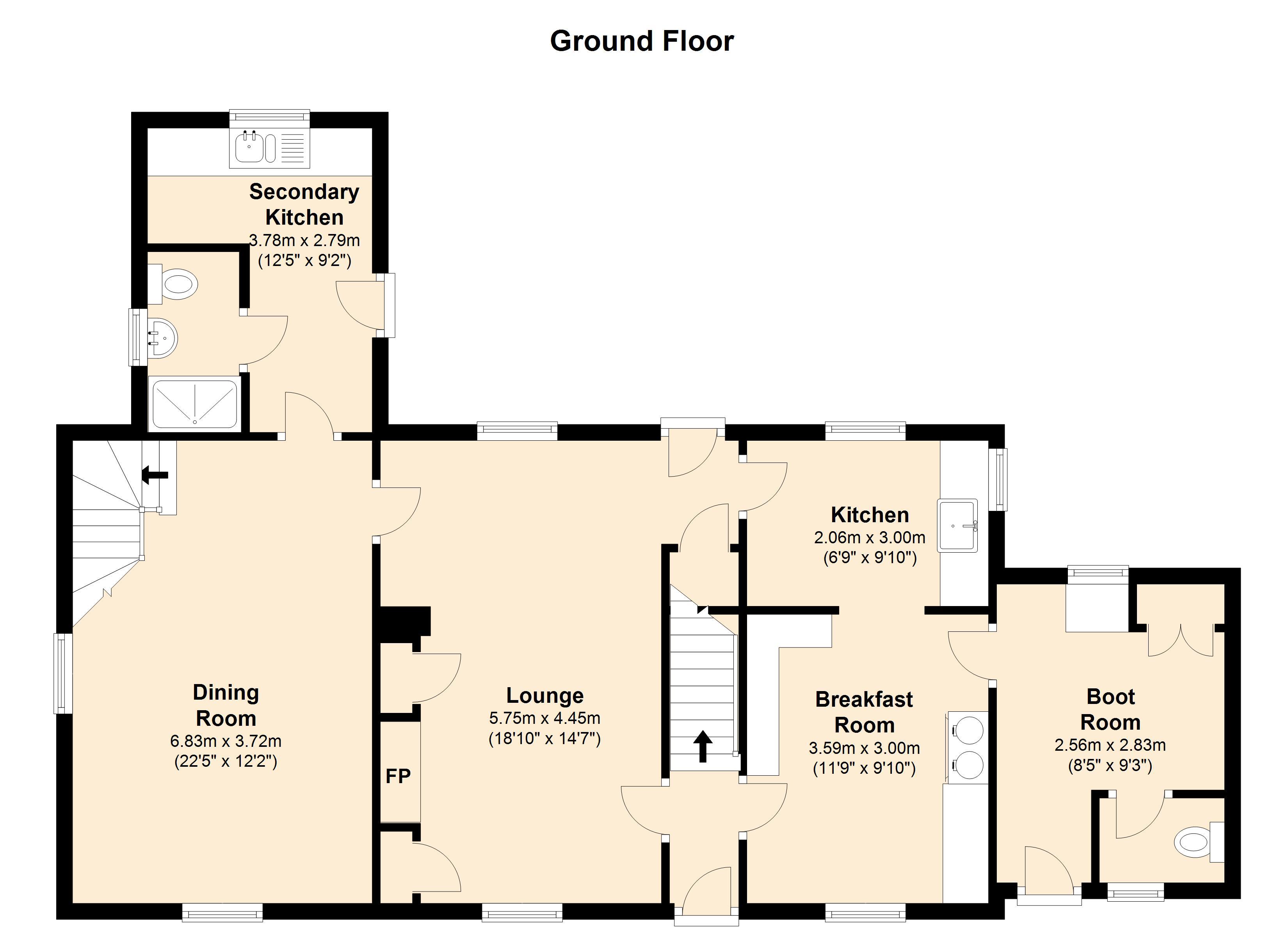 4 Bedroom House In Eglwyswrw