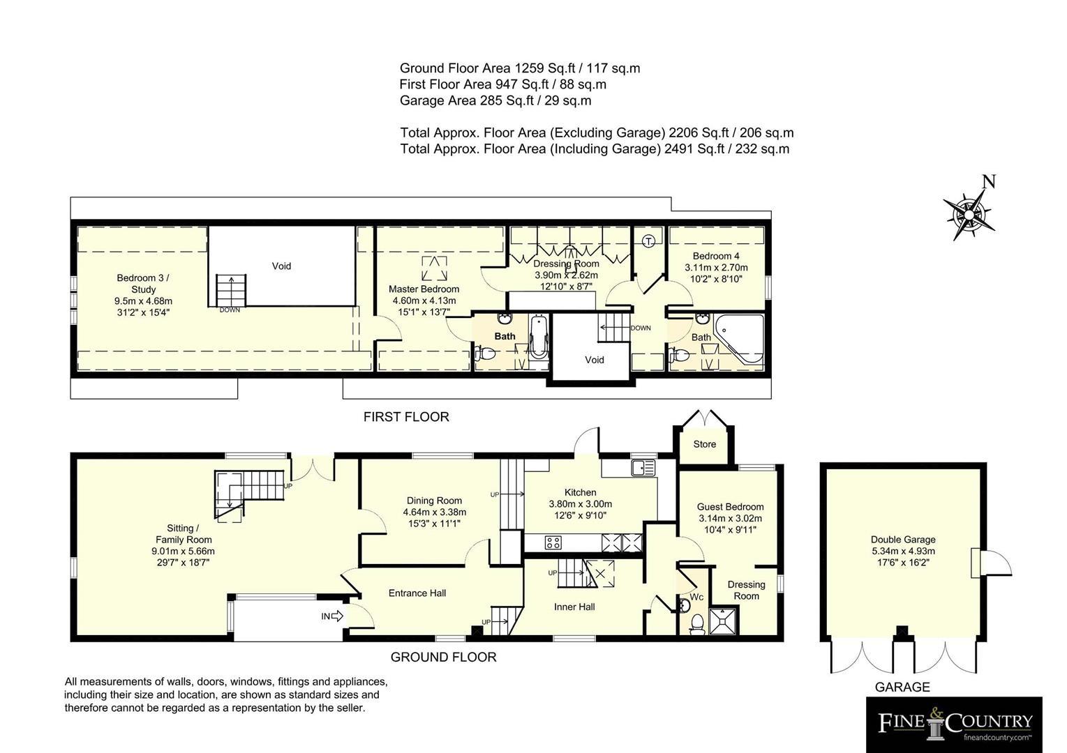 4 bedroom detached for sale in edgcott floorplan