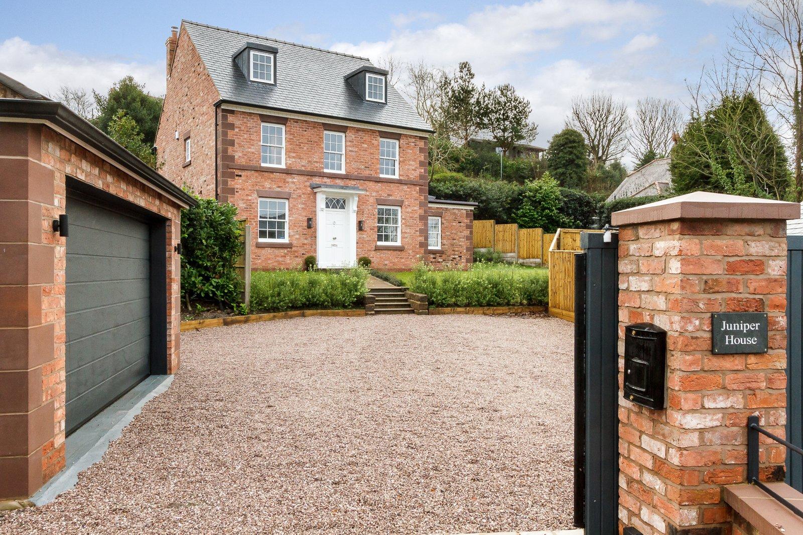 5 bedroom detached for sale in kelsall for Detached garage for sale