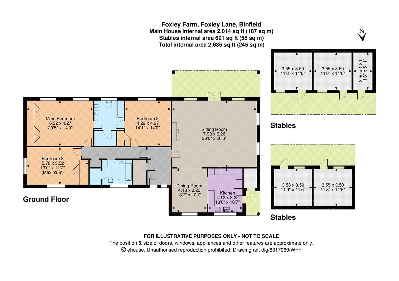 3 Bedroom Detached Bungalow For Sale In Berkshire